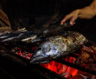 Cerstvy tuniak na grile
