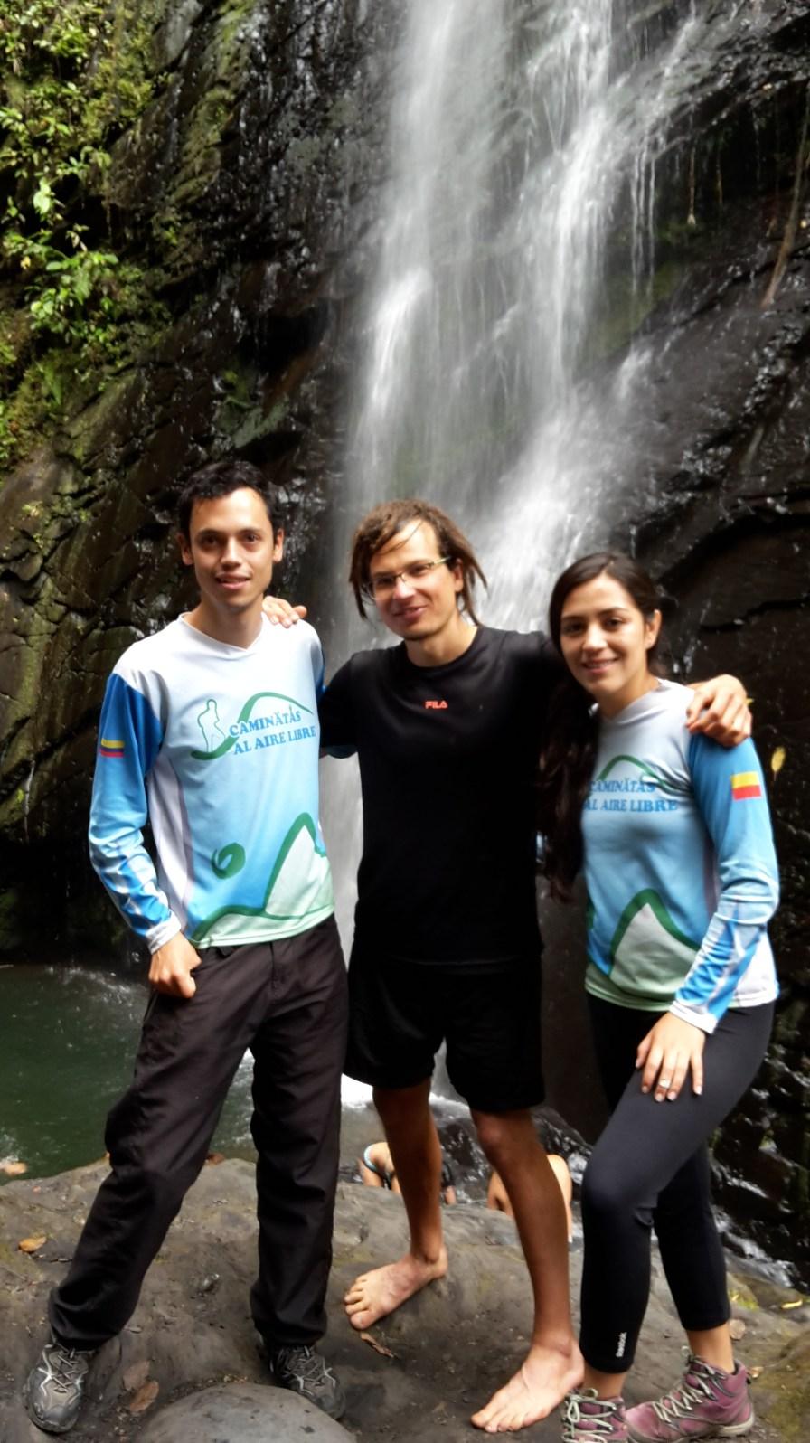 Camilo und Natalia unsere guias:)