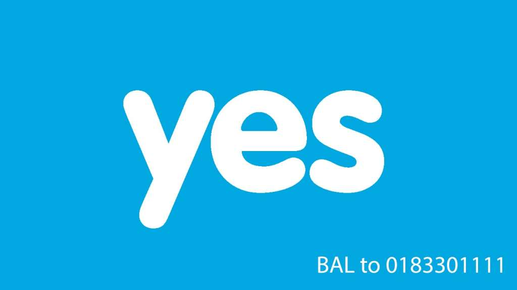 Check Balance in Yes