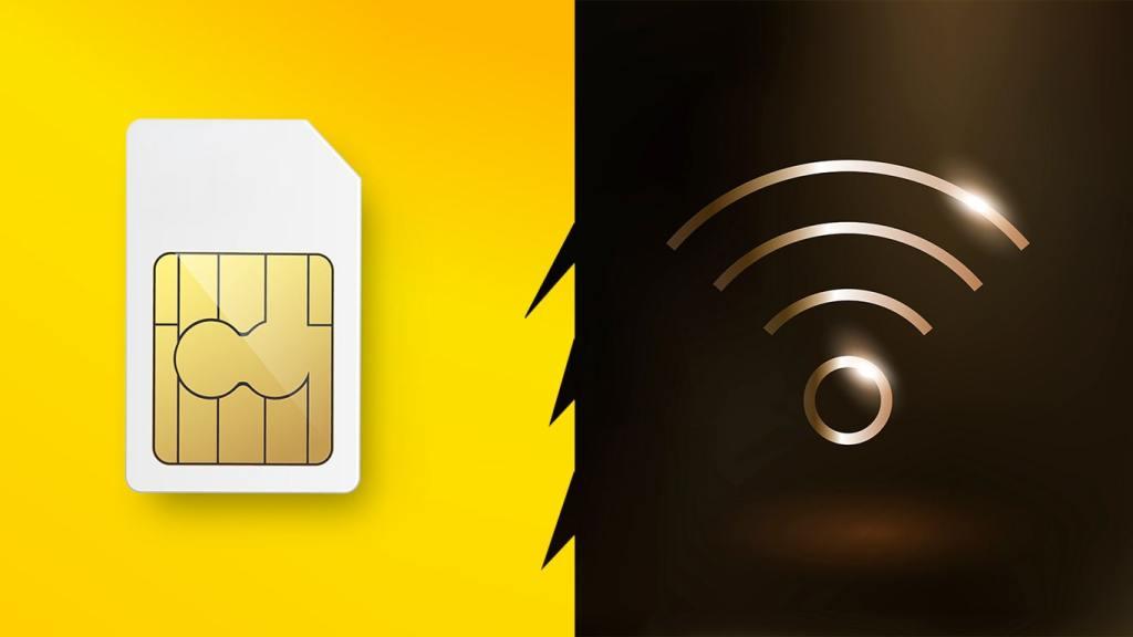 SIM Card Data vs Wifi
