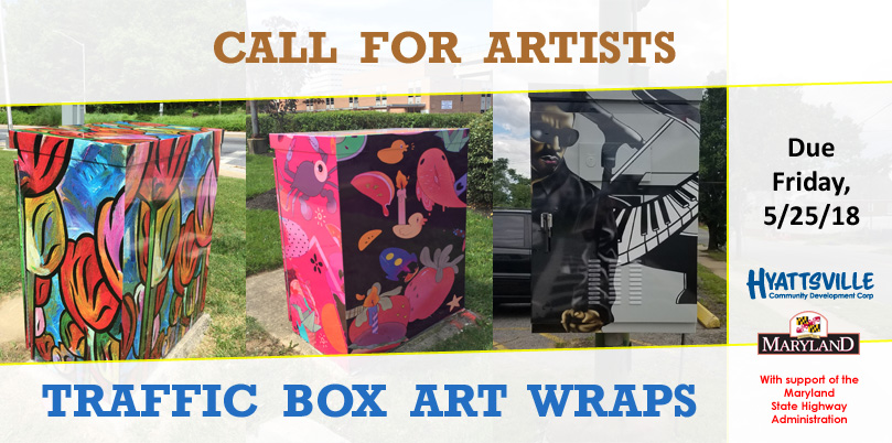 Call for Artists: Traffic Box Art Wrap Project (Hyattsville, MD