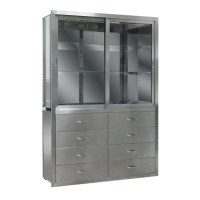 Stainless Steel Medical Cabinet for Hospital or Lab