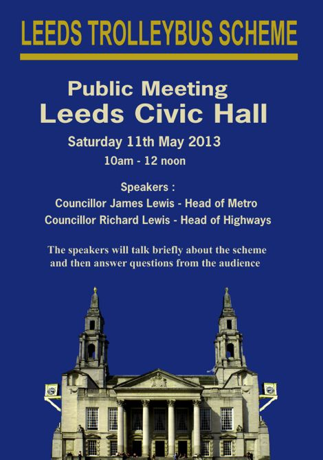 Civic Hall meeting