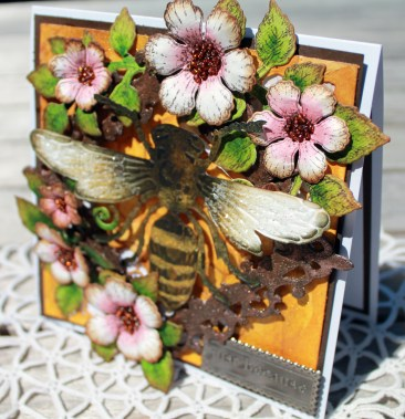 justbecause bee card front side