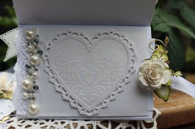 50th anniversary Easel card back card in