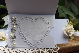 50th anniversary Easel card back