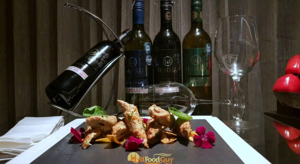 Indian Food and Wine Pairing at Mecure Hyderabad