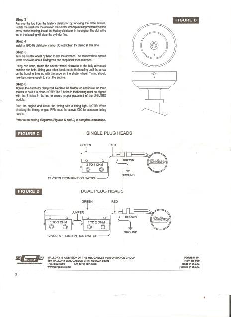 Mallory Unilite Distributor Wiring Diagram : mallory, unilite, distributor, wiring, diagram, Panhead, Flathead