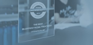 award winning hydrafacial slide