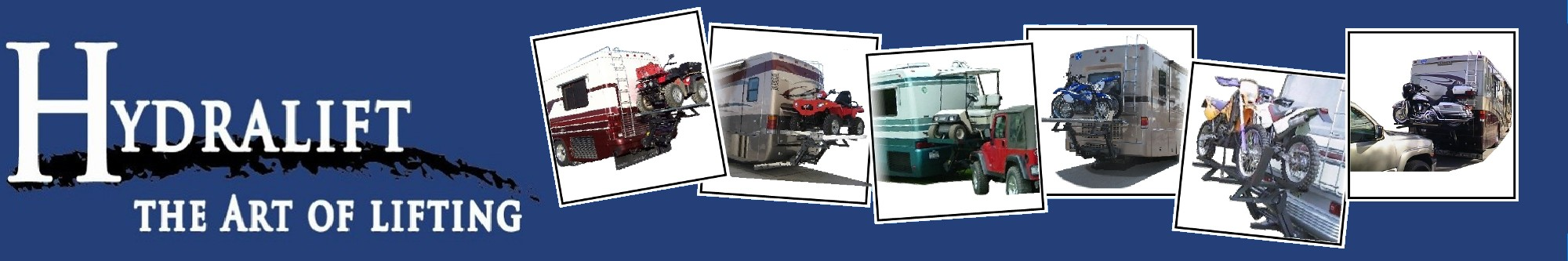 photos of motorcycle lift for RV