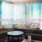 Watercolor Curtains An Alternative Way To Tie Dye Hydrangea Hippo By Jennifer Priest