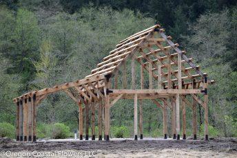 timber framed barn-5
