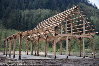 timber framed barn-73