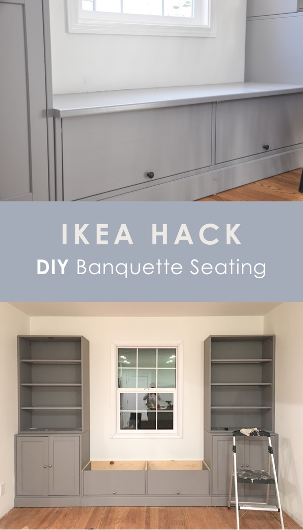 Groovy Diy Ikea Banquette Seating Built In Ikea Havsta Hack Squirreltailoven Fun Painted Chair Ideas Images Squirreltailovenorg