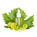 Grapeseed easily absorbed for sensitive skin