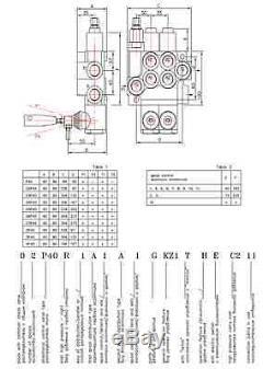 HYDRAULIC KIT VALVE + SOLENOID + CONTROL JOYSTICK JOHN