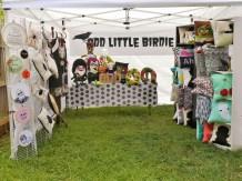 odd little birdie booth banner