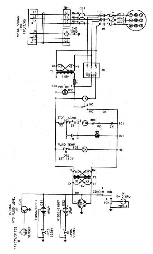 Figure 1-3. Electrical Wiring Schematic, D-6A (Sheet 2 of 2)