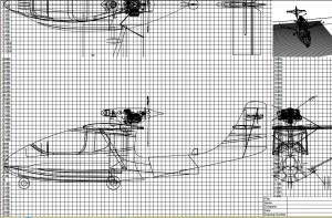 croquis prototype plan