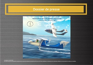 Download the press kit in English CALAMALO Aviation Manufacturer boatplane foils