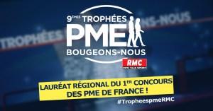 laureat trophée pme bfm buisness rmc -2018