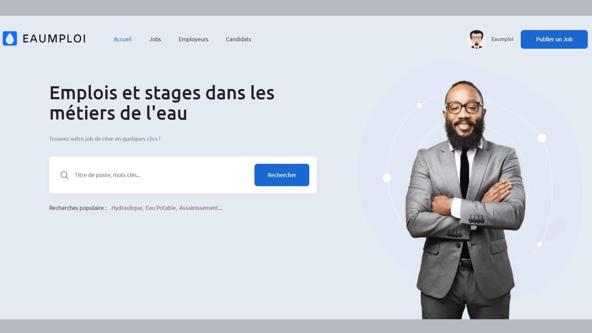 Read more about the article Eaumploi : Emplois et stages dans les métiers de l'eau