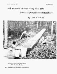 Lloyd Swift (left) and Alden Hibbert (?) (right) at a similar soil model in 1961.