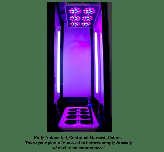 Super Closet SuperLocker 30 LED Grow Cabinet Hydroponic Grow Cabinets Complete Hydroponic