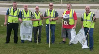 Adopt-A-Highway Clean Up!