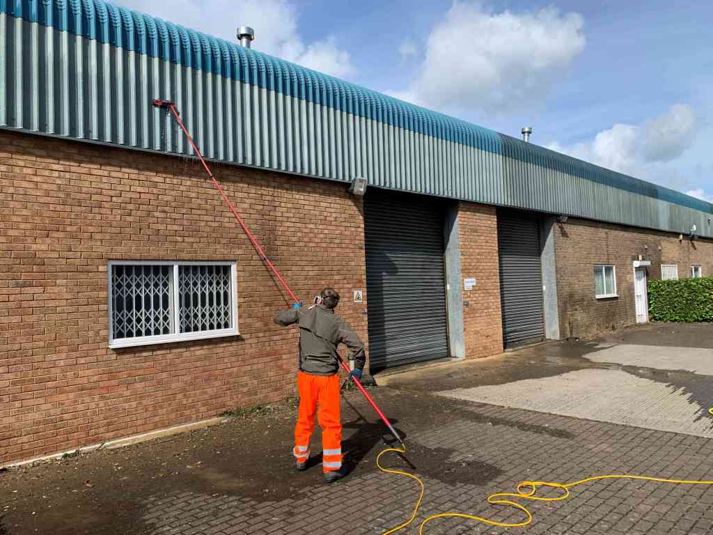 Hydro Clean Exterior Cladding Cleaning. Banbury