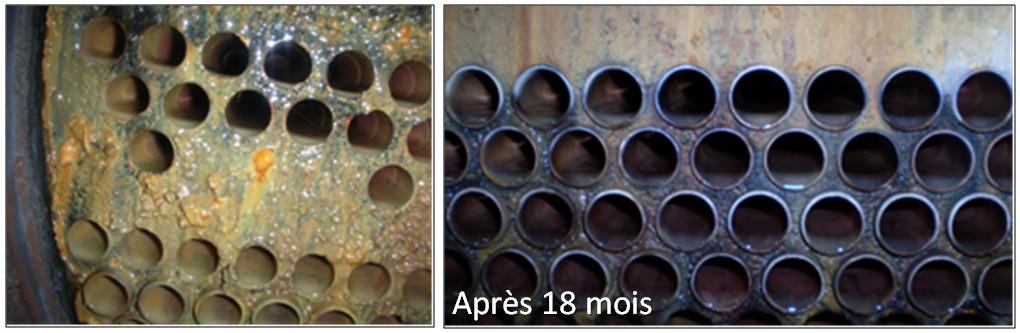 Formation de magnétite HydroFLOW France Traitement de la corrosion