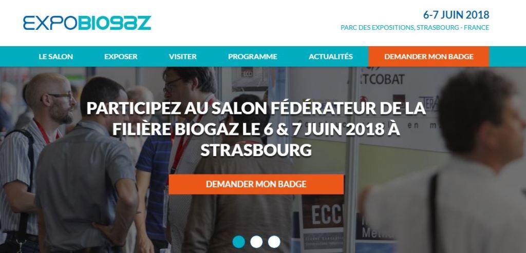 HydroFLOW France est présent sur EXPOBIOGAZ les 6 et 7 juin 2018 à STRASBOURG avec OMNERGIA !
