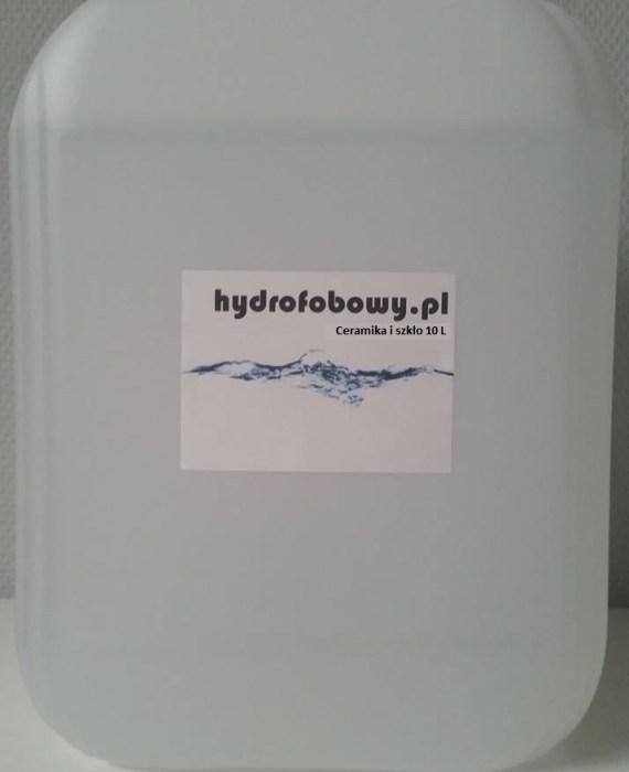 nano powłoka hydrofobowa do ceramiki i szkła 10 litrów poziom jakości standard