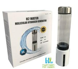 H4H2 Hydrogen rich water bottle