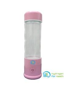 Hydrogen water bottle pink