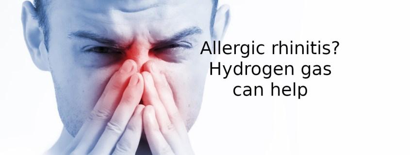allergic rhinitis - Got allergic rhinitis? Hydrogen can help. 1