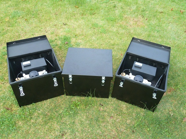 Gen 20 hydrogen systems mounted in steel enclosures 32cm x 38cm x 29 cm- ideal engines greater than 8 liter capacity.on truck coogee chemicals