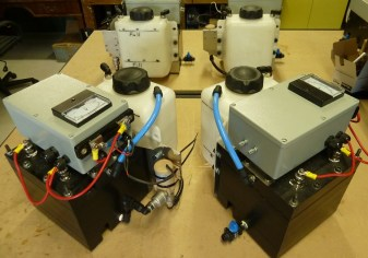 Gen 20 Hydrogen systems with 1500 watt power supplies in diecast aluminium boxes ready for mounting boxes