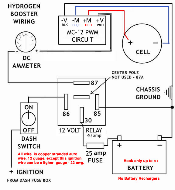 hho wiring instructions