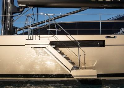 SEASTAIR side boarding ladders