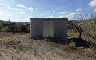 Caseta de Hormigón de 400x200x200 para riego con bombeo