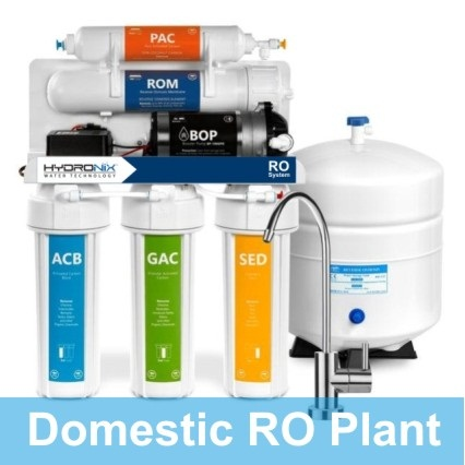 5 Stages RO Water Filter Plant