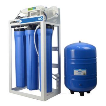 200 gpd light commercial ro plant