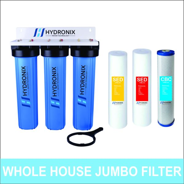 Whole House Water Filter 20 Inch Big Blue JUMBO