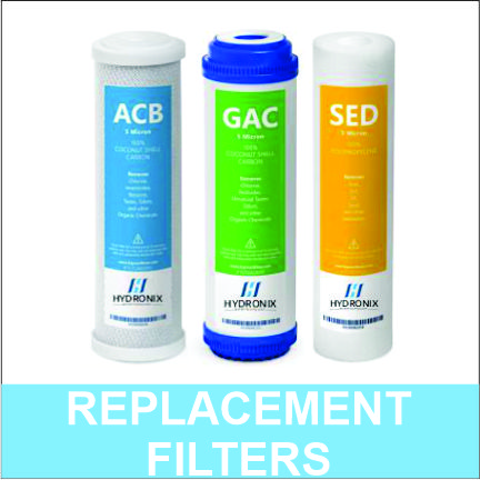 Hydronix RO Replacement Filters Set