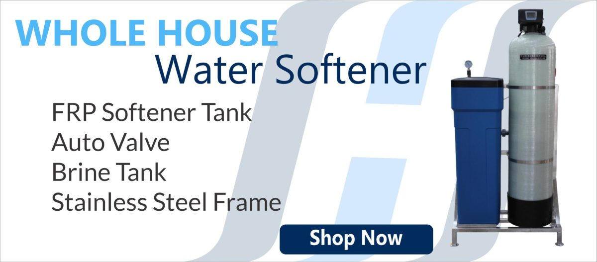 Whole House Water softener Single