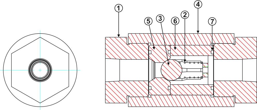 medium resolution of high pressure inline check valve diagram