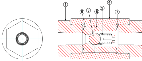 small resolution of high pressure inline check valve diagram