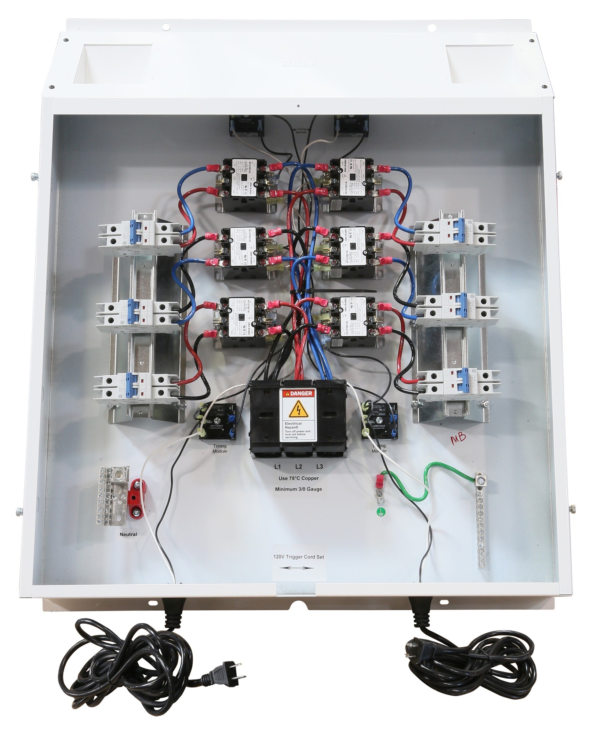 allen bradley motor starter wiring diagram 3 phase irrigation panel arlec ceiling fan with light titan controls helios 200 amp commercial series lighting
