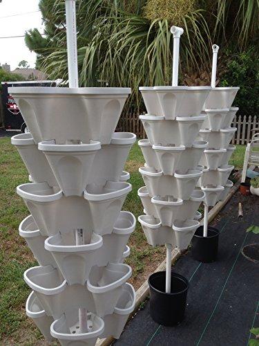 Mr Stacky 5 Tiered Vertical Gardening Planter Indoor